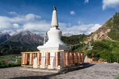 Bochi Pagoda, Mati Si, Gansu Province, China