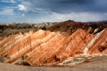 Danxia Rainbow Rocks, Zhangye, Gansu, China