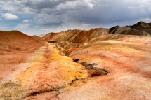 Danxia Rainbow Rocks, Zhangye, Gansu, China