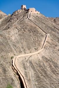 The Overhanging Wall, Jiayuguang, Gansu Province, China