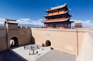 Jiayaguan Fort, Gansu Province, China