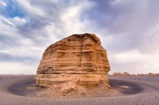 Ya Dan desert, nr Dunhuang, Gansu Province, China