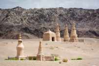 Mausoleums at the Mogao Caves, Dunhuang, Gansu Province, China