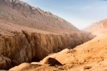 """""""Flaming Mountains"""", near Tuyoq, Turpan, Xinjiang Province, Chin"""