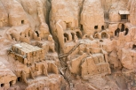 Buddhist caves near Tuyoq, Turpan, Xinjiang Province, China
