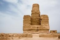 Jiaohe Ruins, Turpan, Xinjiang Province, China