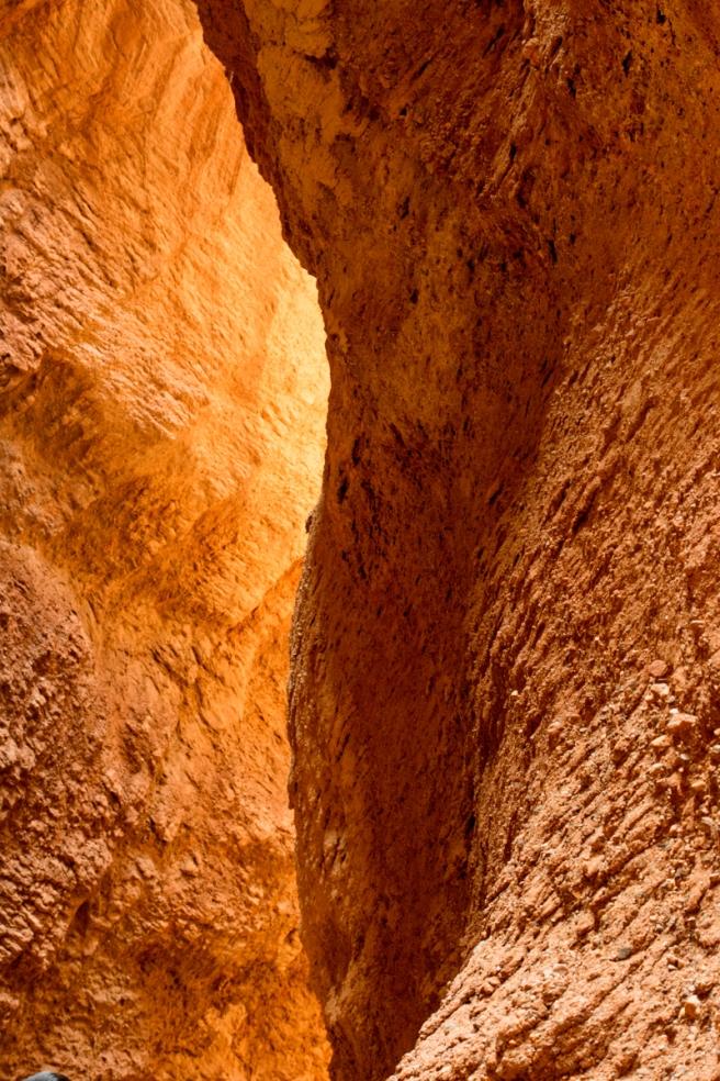 """Tianshan """"Mysterious"""" Grand Canyon, Kuqa, Xinjiang Province, Chi"""