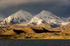 Karakul Lake, Karakoram Highway, Xinjiang Province, China