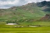 The route to Orkhon Kurkhree, Övörkhangai province, Mongolia