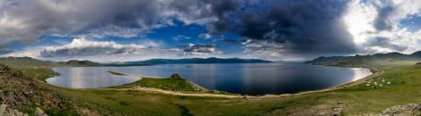 Terkhiin Tsagaan Lake, Tariat, Arkhangai, Mongolia
